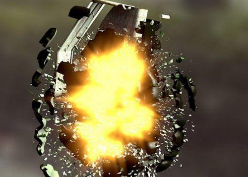 граната взрыв