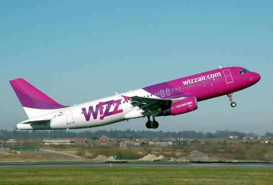 wizzair самолет